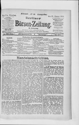 Berliner Börsen-Zeitung vom 25.01.1916