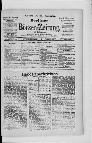 Berliner Börsen-Zeitung vom 03.03.1916