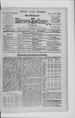 Berliner Börsen-Zeitung vom 04.03.1916