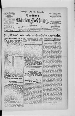 Berliner Börsen-Zeitung vom 05.03.1916