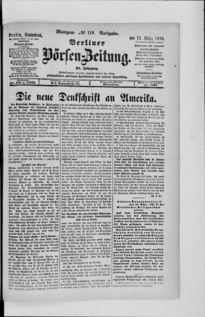 Berliner Börsen-Zeitung vom 11.03.1916