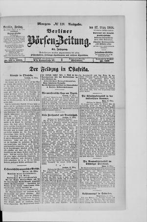Berliner Börsen-Zeitung vom 17.03.1916