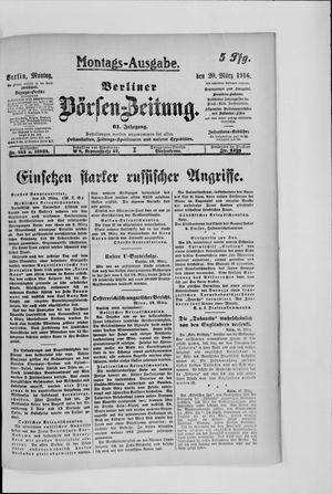 Berliner Börsen-Zeitung vom 20.03.1916