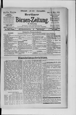 Berliner Börsen-Zeitung vom 21.03.1916