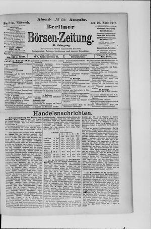 Berliner Börsen-Zeitung vom 29.03.1916