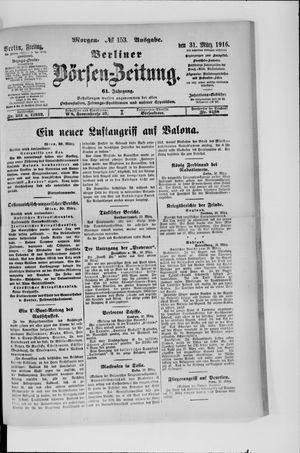 Berliner Börsen-Zeitung vom 31.03.1916