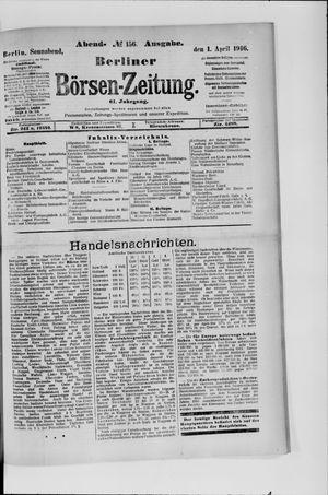 Berliner Börsen-Zeitung vom 01.04.1916