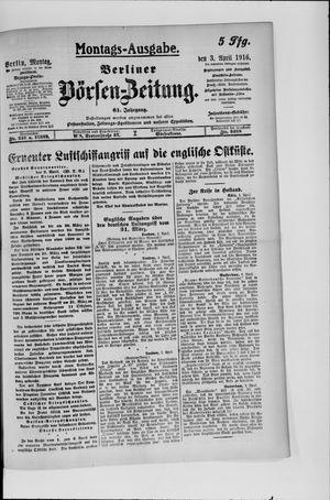 Berliner Börsen-Zeitung vom 03.04.1916