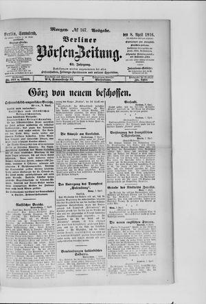 Berliner Börsen-Zeitung vom 08.04.1916