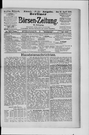 Berliner Börsen-Zeitung vom 12.04.1916