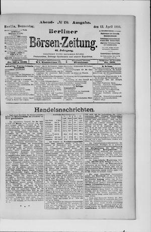 Berliner Börsen-Zeitung vom 13.04.1916