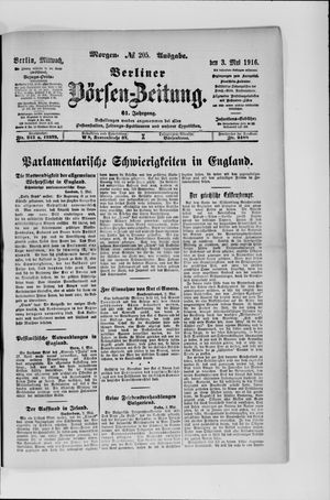 Berliner Börsen-Zeitung vom 03.05.1916
