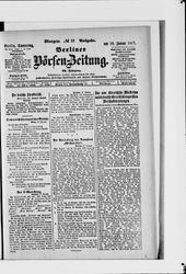 Berliner Börsen-Zeitung (18.01.1917)