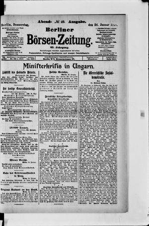 Berliner Börsen-Zeitung vom 24.01.1918