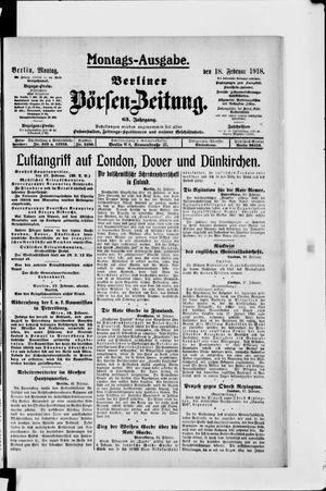 Berliner Börsen-Zeitung vom 18.02.1918
