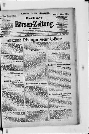 Berliner Börsen-Zeitung vom 14.03.1918