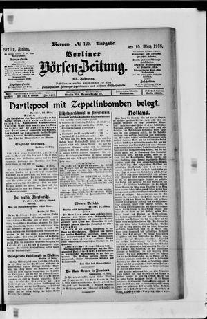 Berliner Börsen-Zeitung vom 15.03.1918