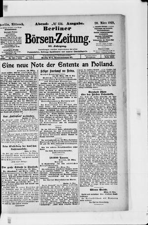 Berliner Börsen-Zeitung vom 20.03.1918
