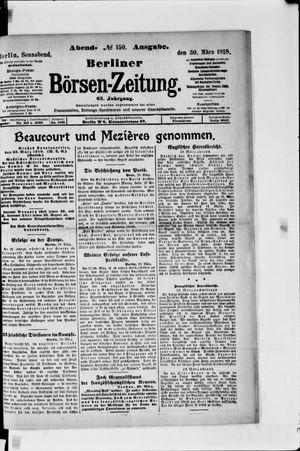 Berliner Börsen-Zeitung vom 30.03.1918