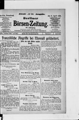 Berliner Börsen-Zeitung vom 06.04.1918