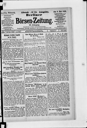 Berliner Börsen-Zeitung vom 08.05.1918