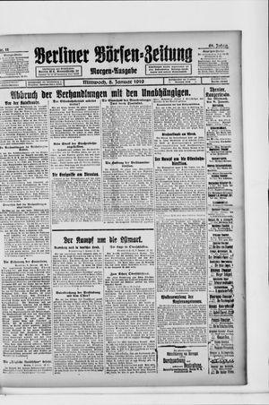 Berliner Börsen-Zeitung vom 08.01.1919