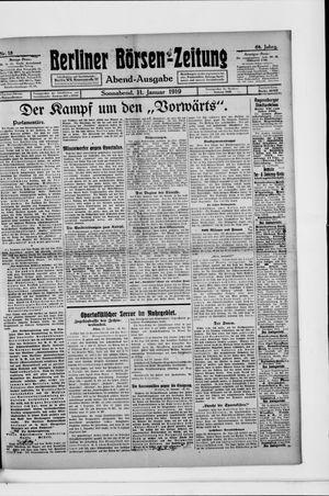 Berliner Börsen-Zeitung vom 11.01.1919