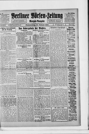 Berliner Börsen-Zeitung vom 23.01.1919