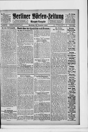Berliner Börsen-Zeitung vom 31.01.1919