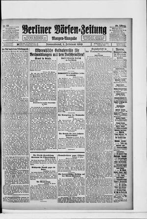 Berliner Börsen-Zeitung vom 01.02.1919