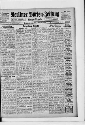 Berliner Börsen-Zeitung vom 13.02.1919