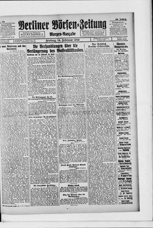 Berliner Börsen-Zeitung vom 14.02.1919