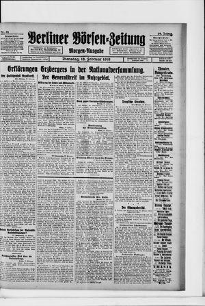 Berliner Börsen-Zeitung vom 18.02.1919