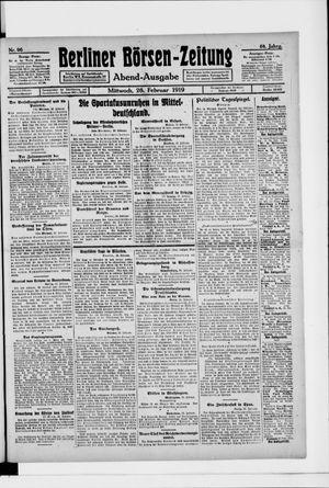 Berliner Börsen-Zeitung vom 26.02.1919