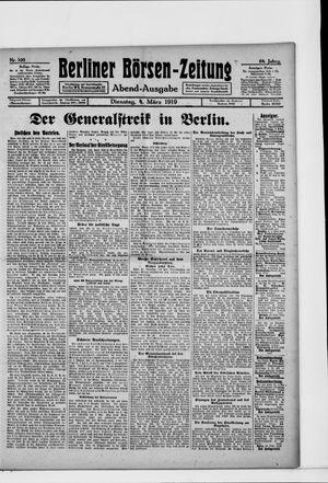 Berliner Börsen-Zeitung vom 04.03.1919