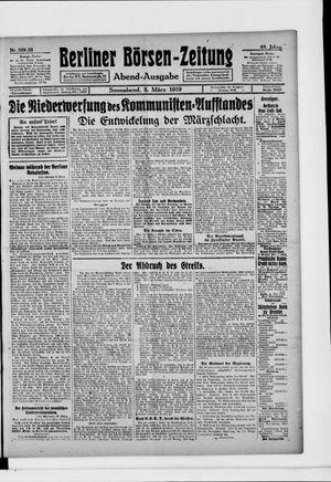 Berliner Börsen-Zeitung on Mar 8, 1919