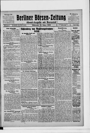 Berliner Börsen-Zeitung vom 12.03.1919