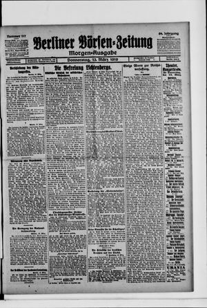 Berliner Börsen-Zeitung vom 13.03.1919