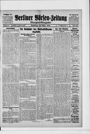 Berliner Börsen-Zeitung vom 16.03.1919