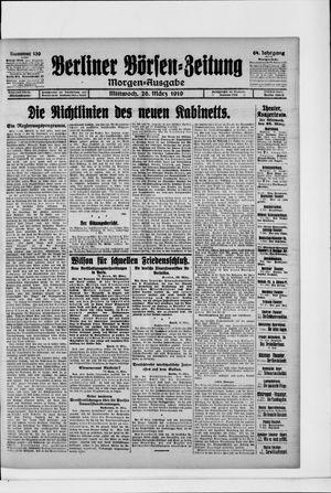 Berliner Börsen-Zeitung vom 26.03.1919