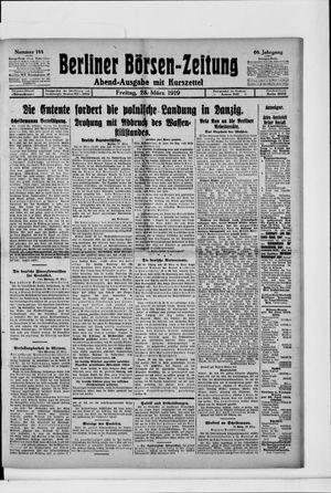 Berliner Börsen-Zeitung vom 28.03.1919
