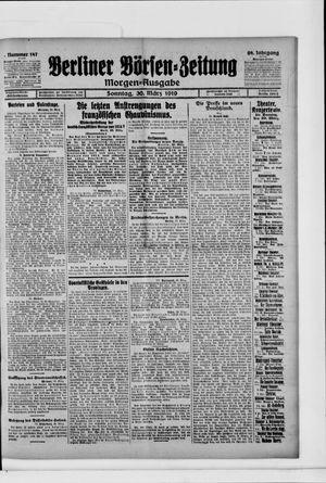 Berliner Börsen-Zeitung vom 30.03.1919