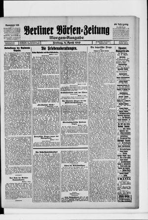 Berliner Börsen-Zeitung on Apr 4, 1919