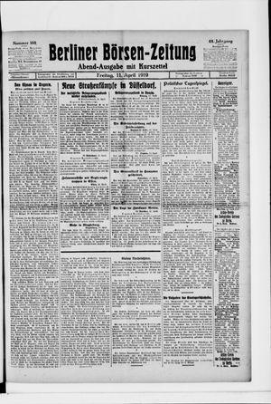 Berliner Börsen-Zeitung on Apr 11, 1919