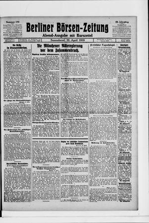 Berliner Börsen-Zeitung vom 12.04.1919