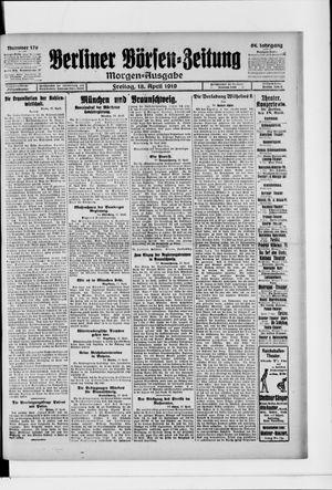Berliner Börsen-Zeitung vom 18.04.1919