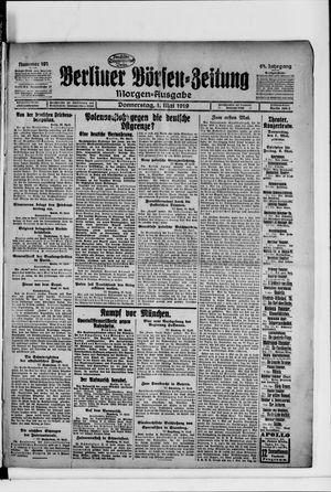 Berliner Börsen-Zeitung on May 1, 1919