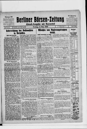 Berliner Börsen-Zeitung on May 2, 1919