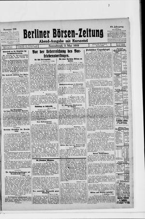 Berliner Börsen-Zeitung vom 03.05.1919