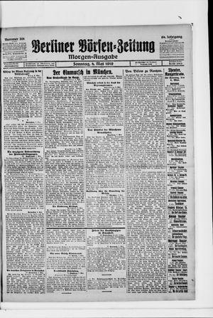 Berliner Börsen-Zeitung vom 04.05.1919
